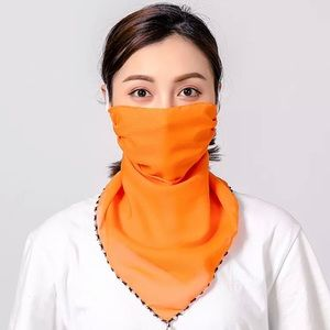 L&PU Facial Scarf Covering